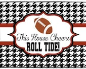 Taigate College Football Doormat- ANY TEAM -Design Your Own