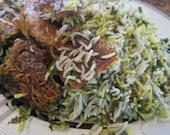 "Persian Herb Rice Kit - ""Sabzi Polo"""