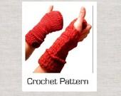 PDF Crochet Pattern for Snugs Fingerless Gloves
