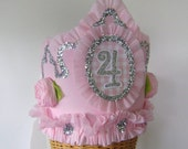 4th Birthday Crown, Hat -  or any number