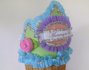 Baby Shower Crown, Mommy to Be, customize