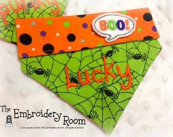 Halloween Boo-Dog Bandana