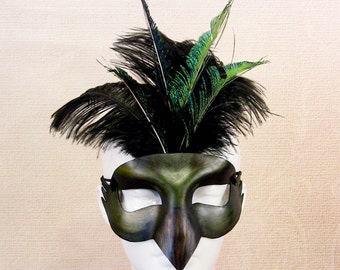 Bird Leather Mask