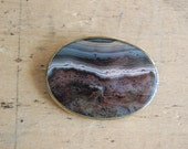 Victorian banded agate brooch ∙ SILICA
