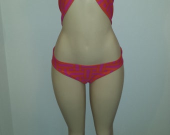 Low rise Halter swimsuit