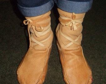 wrapraround moccasins ankle wrap for women (wraps)