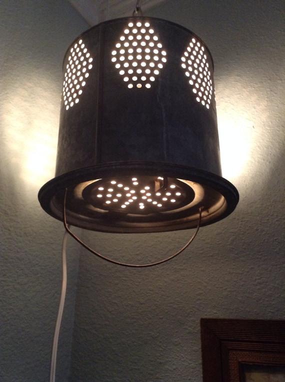 Vintage Minnow Bucket Light