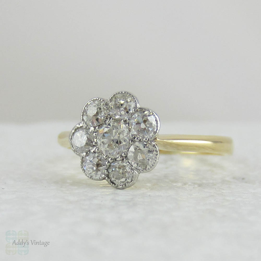 Etsy Antique Diamond Rings