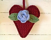 Valentine's Heart Sachet Ornament