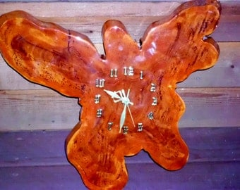 Florida Cypress Vintage  Handmade Wall Clock