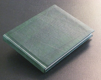 Leather Journal Notebook - Green