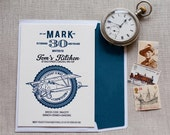 Biplane - 30th Birthday Invitation (min. 50 qty)