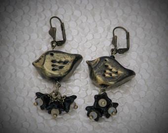 Ravens Earrings