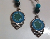 Grateful Dead Terrapin Station Beaded Earrings