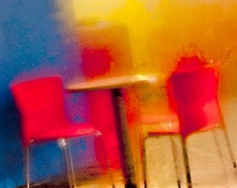 The Most Vibrant Of All Cafes 8x10 Inch Photographic Print