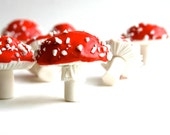 Chocolate Filled, Candy Toadstools -Red - Amanita Muscaria - As Seen in Urban Outfitters
