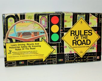 1977 Rules of the Road Driver Education Game