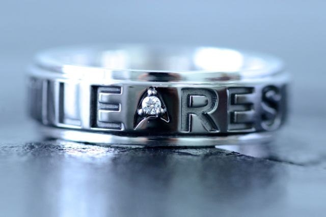 zoom - Star Trek Wedding Ring