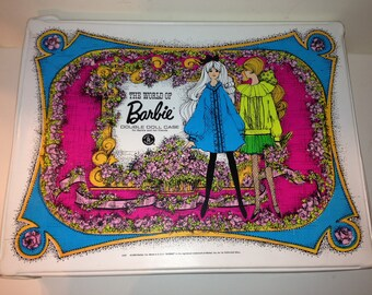 Vintage The World of Barbie Double Doll Case