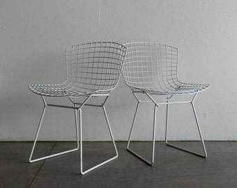 Knoll Bertoia Wire Side Chair (Set of 2)
