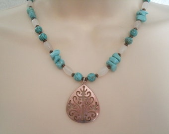Turquoise Necklace, southwestern jewelry southwest jewelry turquoise jewelry native american jewelry theme western jewelry country tribal