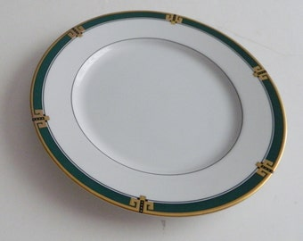 """Fitz & Floyd American Settings Collection """"Memphis"""" Pattern Salad/Luncheon Plate"""