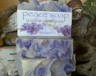 lavender lemongrass peace soap