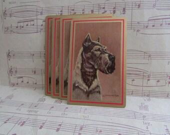 Vintage Dog Playing Cards- Set of 10
