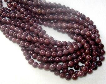 """Chocolate Aventurine,  Round Beads,  Gemstone beads, Jewelry Making Beads, Craft Supply,  Aventurine Beads, Jewelry Design, 16"""" Strand 8mm"""
