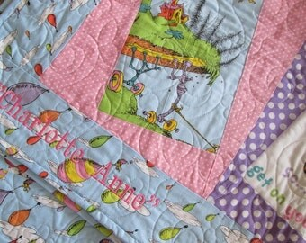 Personalize your Quilt, Christmas Stocking or Advent Calendar