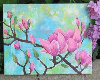 Magnolia Branches Canvas