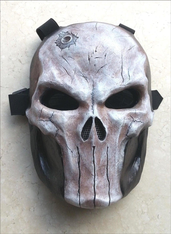 Skeleton Paintball Mask Design