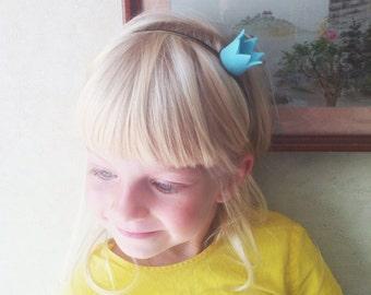 Headband with crown