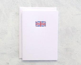 Letterpress Note Cards - Union Jack (Set of 6)