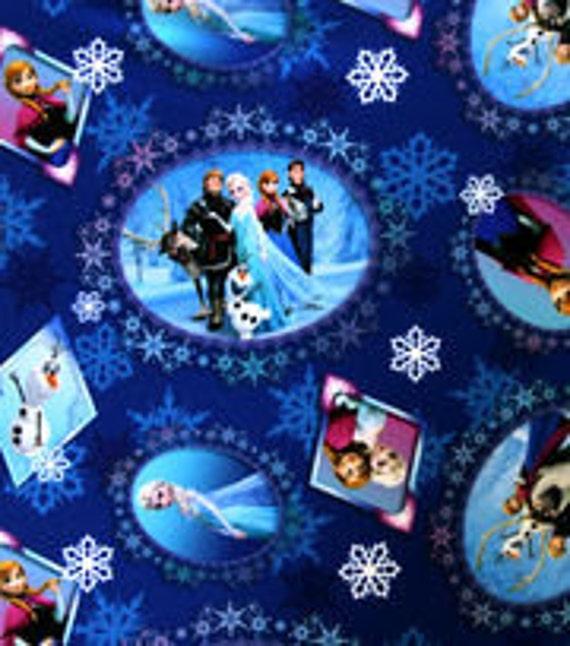 Frozen Bean Bag Chair Cover Blue Purple Elsa Anna Olaf
