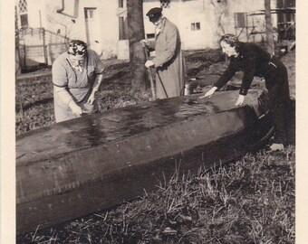 Boat Group - Vintage Photograph, Vernacular, Ephemera  (ZZ)
