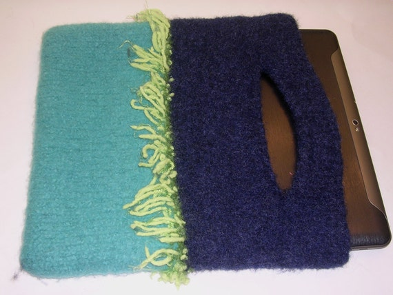 "50 % -"" MAYSALE""  code,Felted , Hand Knitted, Artisan made Clutch Purse"