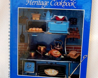 Arizona Highways Heritage Cookbook 144 Pages circa 1988 Spiral Bound Hard Cover Southwest recipes, history and photos   CB311