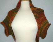 Knitting Pattern *Only* for Sweater Shrug, Bolero, Cardigan, Dolman, Wrap