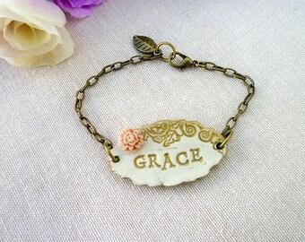 Shabby Chic Lady Bracelet