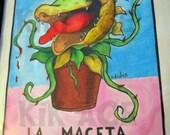 La Maceta (Audrey II from Little Shop of Horrors)8x10  Print