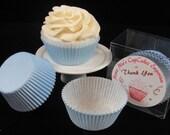 Light Blue Cupcake Liners - Quantity 25