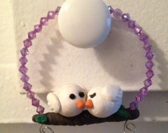 Love Bird's Christmas Ornament