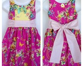 Ainslee Fox Foxtrot Party Dress size 1 to 12 years girl sewing pattern PDF hidden button tab collar bonus mo moustache bow tutorial