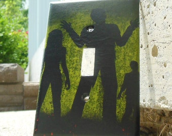 Zombies Light Switch Plate Cover Z101
