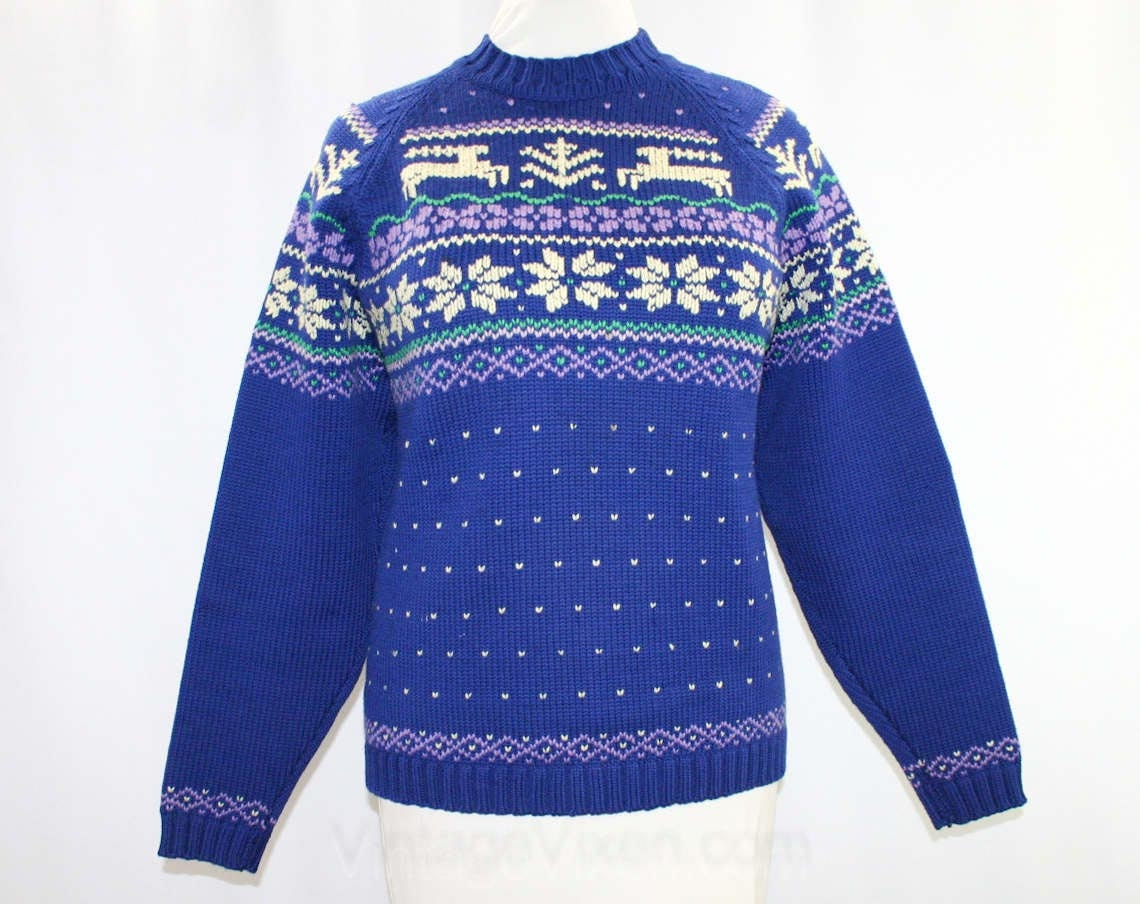 Mens reindeer sweater - results from brands Shop4Ever, DVRunlimited, FIFTH SUN, products like Ugly Christmas Sweater Flashing Light Red Nose Reindeer Adult Green Sweater, Granny Got Run Over by a Reindeer Ugly Christmas Sweater, Ambesonne Vintage Reindeer with Antlers with Native American Tribal Element and Flowers Motivational Duvet Set nev__ Size: Twin, Men's Sweaters .