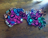 Bear Bunny and Bear Paw Patches Native Art 3 for 25