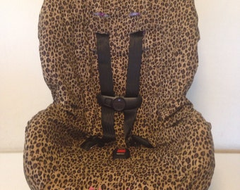 LEOPARD CHEETAH toddler Car Seat Cover