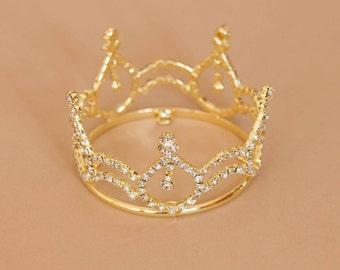 Newborn Rhinestone Crown Tiara Photo Prop #4012