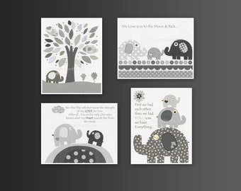 Nursery Art Prints // Baby Room Decor // Nursery Art Decor // Kids Print // Baby Boy Nursery // gray and white // Taylor bedding PBK